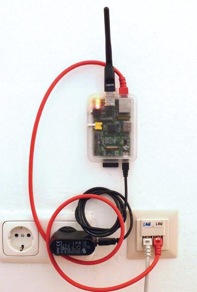 Rasp Pi Access Point Network - Page: 1 2 - Seite 2 » Raspberry Pi Geek