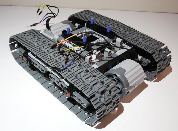 Figure 1 The Starting Point For This Project Is 42006 Lego Set Together With Two Modified Motors From Pf Xl Series