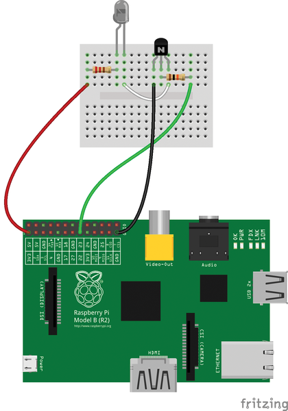 PI zero and IR circuits | Details | Hackaday io