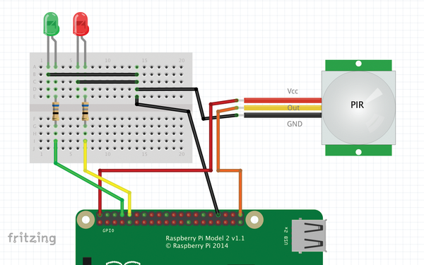 Scratch – Motion Detector - Page: 1.2 - Seite 2 » Raspberry ... on