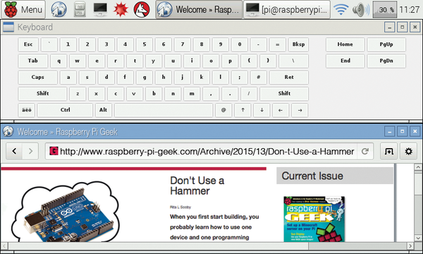 The Rasp Pi Display » Raspberry Pi Geek