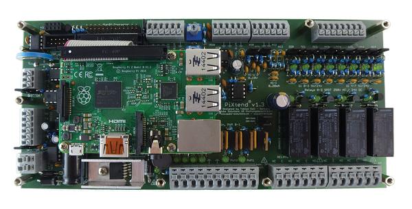 PiXtend Extension Board » Raspberry Pi Geek