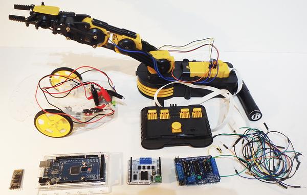 Robot Arm » Raspberry Pi Geek