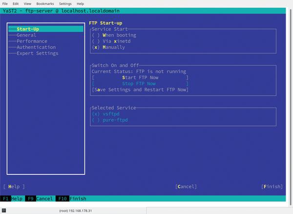 YaST » Raspberry Pi Geek