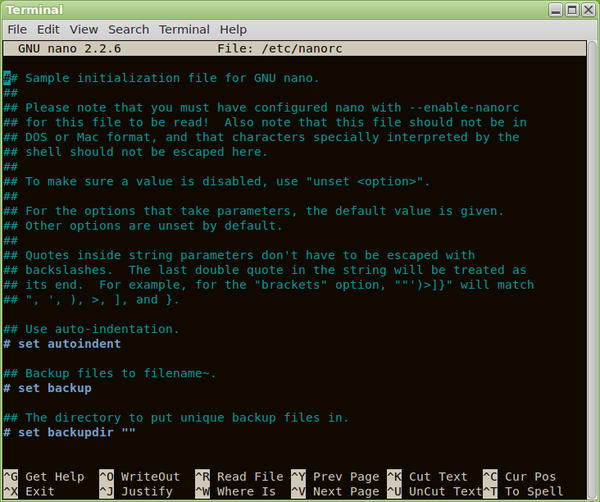 Nano Text Editor Basics Raspberry Pi Geek